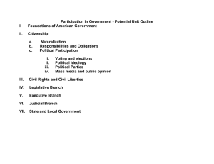Participation in Government 12