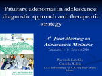 Pituitary adenomas in adolescence: diagnostic approach