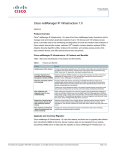 Cisco netManager IP Infrastructure 1.0 Product Overview