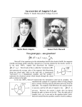 A brief history of Ampere`s law