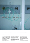 Guillain-Barre Syndrome: Harnessing the body's defences