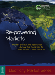re-powering markets - International Energy Agency