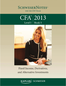 2013 CFA Level 1 - Book 5 - Apache