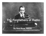The Forefathers of Radio