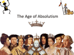 The Age of Absolutism