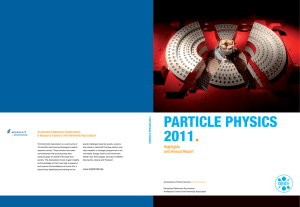 Particle Physics 2011