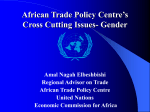 African Trade Policy Centre`s Cross Cutting Issues