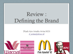 Review : Defining the Brand