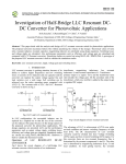 1-Seyezhai- investigation of half-bridge llc resonant