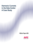 Harmonic Currents in the Data Center