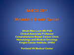 SABCS 2011 Metastatic Breast Cancer
