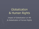 Globalization & Human Rights