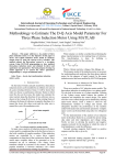 Methodology to Estimate The DQ Axis Model Parameter