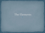 2The Elements