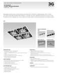 3G-RC22LED - 4 LT Square Trimless