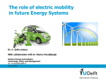Electric mobility in future energy systems