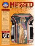 2016 volume 24 • issue 6 The holy ProPheT elias FeasT Day: July 20