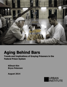Aging Behind Bars: Trends and Implications of Graying Prisoners in