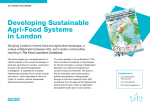 Developing Sustainable Agri-Food Systems in London