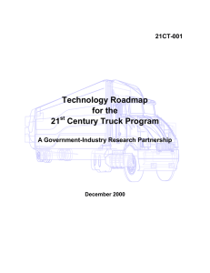 Technology Roadmap for the 21