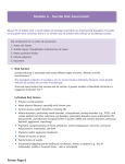 Module 4 – Suicide Risk Assessment