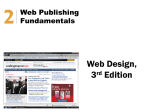 Advantages of Web Publishing