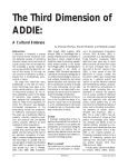 The Third Dimension of ADDIE: A Cultural Embrace