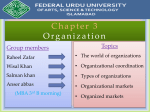 Organization slide by salman khan