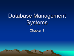 Database Management Systems - University of Hawaii at Hilo