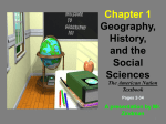 Chapter 1 Geography, History, and the