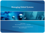 The Growth of International Information Systems