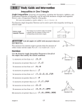 Geometry Study Guide Lesson 5