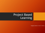 Project Based Learning Final