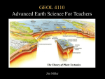 GEOL 4110 Advanced Earth Science For Teachers Jim Miller