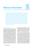 6 Balance of Payments I CHAPTER