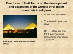 Compare and contrast the prominent religions in Southwest Asia