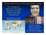 Human Dimensions of Ecological Forecasting