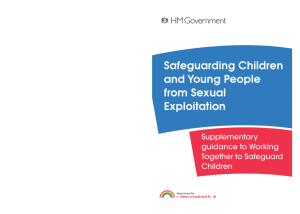 Safeguarding Children and Young People from Sexual