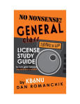 No Nonsense General Class License Study Guide