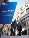 The Prime Brokerage Industry