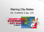 Warring City-States - mrs
