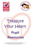 Treasure Your Heart Resources for Pupils