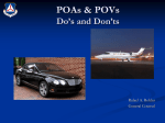 POAs & POVs Do`s and Don`ts
