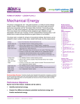 Mechanical Energy - Dickson Electric Systems