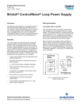 Bristol® ControlWave® Loop Power Supply