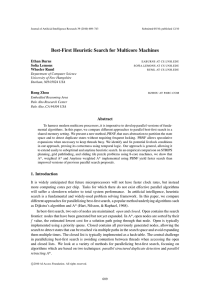 Best-First Heuristic Search for Multicore Machines Ethan Burns .
