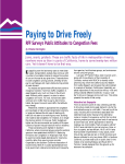 Paying to Drive Freely RFF Surveys Public Attitudes to Congestion Fees