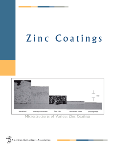Zinc Coatings - Court Galvanizing Inc