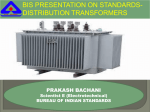 bis presentation on standards- distribution transformers