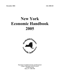 New York Economic Handbook 2005 December 2004